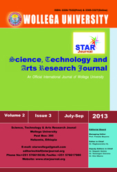 Science, Technology and Arts Research Journal